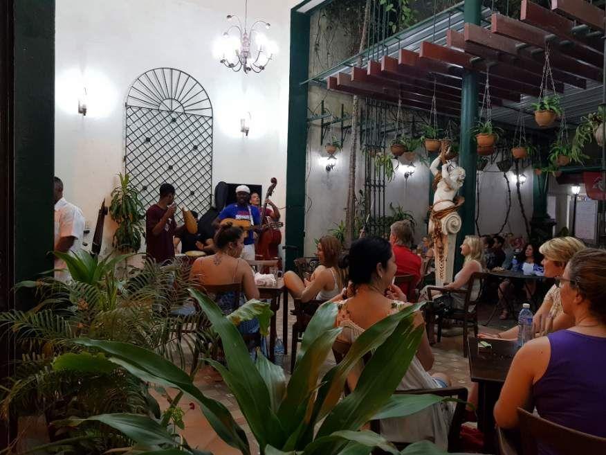 Live music Obispo St Old Havana Cuba