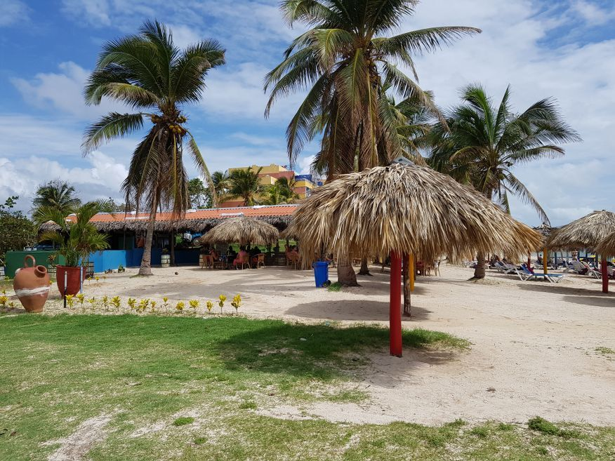 One of the restaurants at Playa Ancon Beach Trinidad Cuba