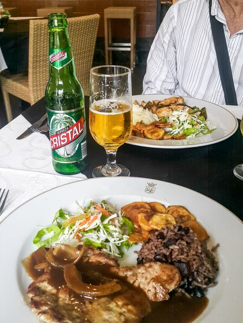 Our meals at La Pina de Plata Restaurant Old Havana