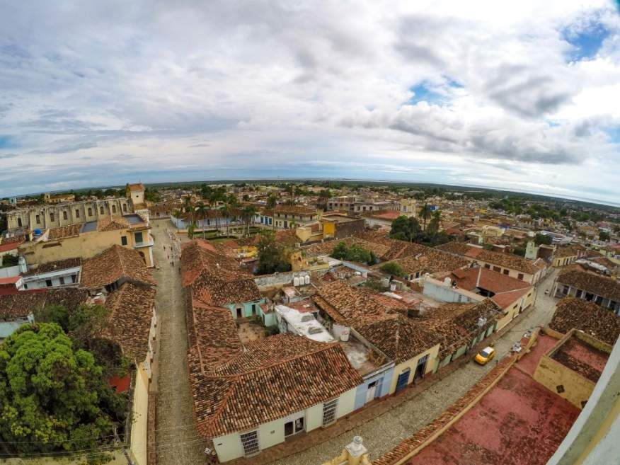 Views from the bell tower Museum Trinidad Cuba