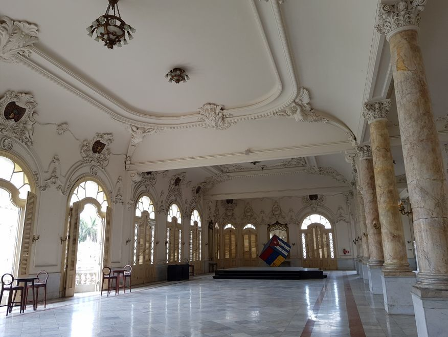 Ballroom in the Palace