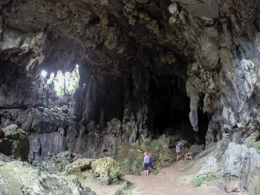 Beginning of the Santo Tomas Caves Vinales Cuba