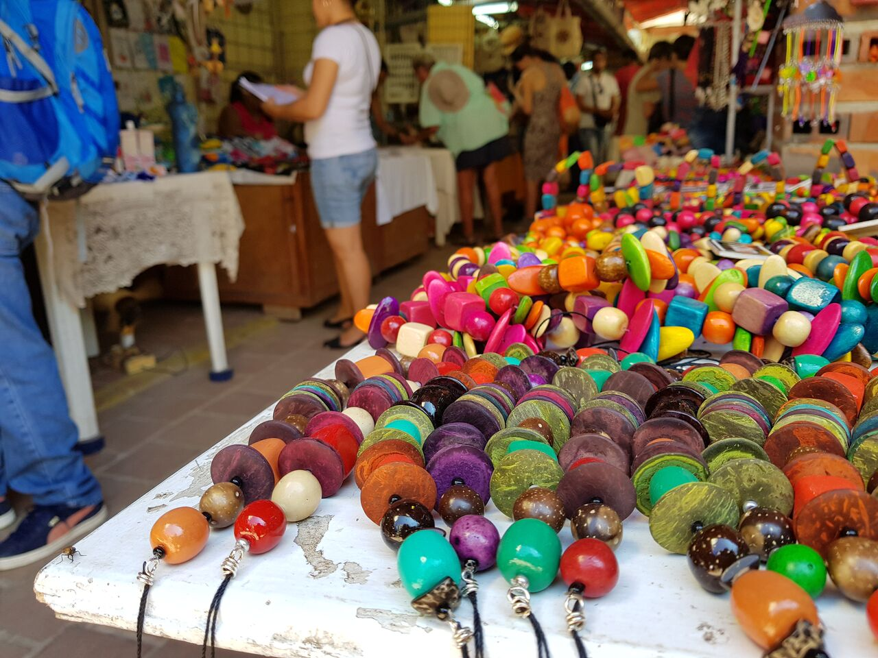 Craft market in Obisbo St Havana Cuba
