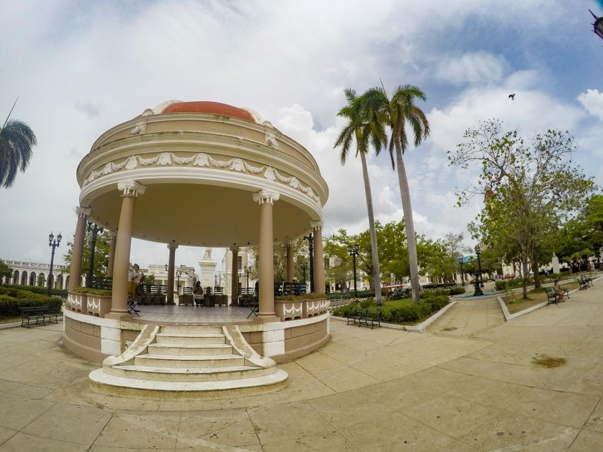 Glorieta del 1922 Parque Marti Square Cienfuegos Cuba