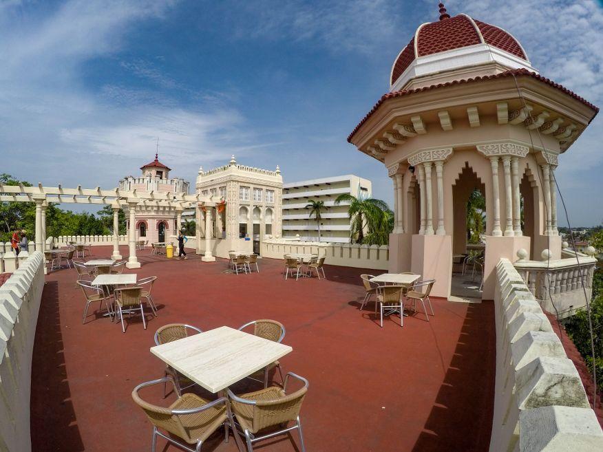 Top of Palacio de Valle Cienfuegos Cuba