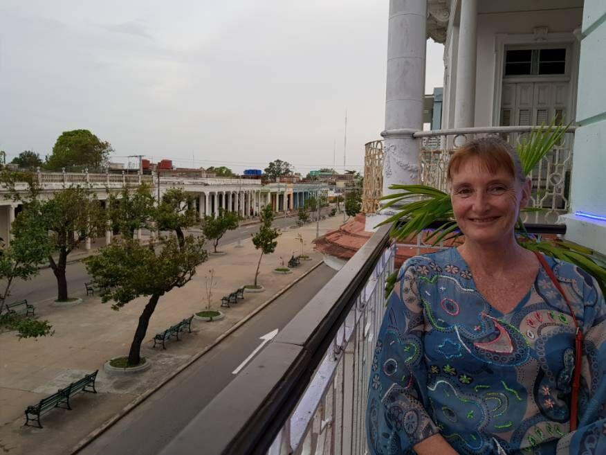 Views from Dona Nora Restaurant Cienfuegos Cuba