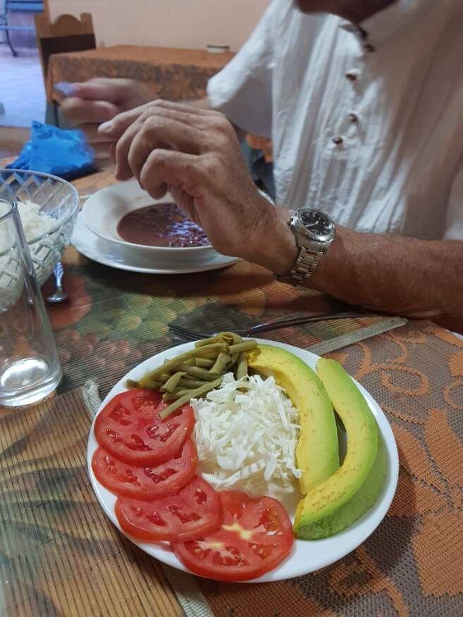 Entree at Casa Orula Chango Trinidad Cuba