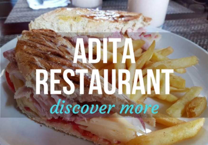 Adita Restaurant in Trinidad, Cuba