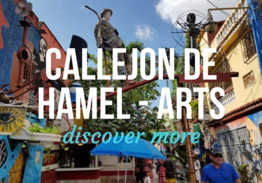Callejon de Hamel Artworks in Havana