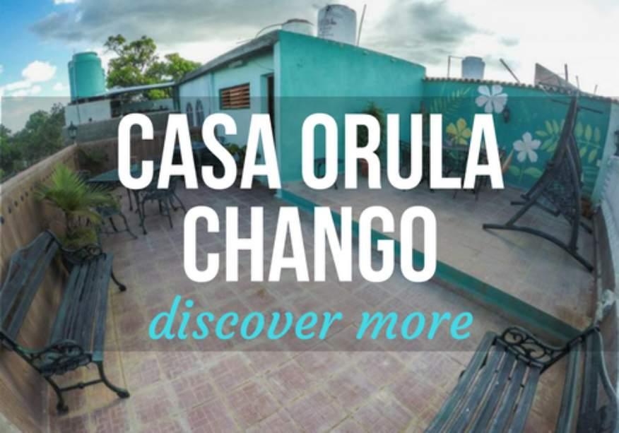 Casa Orula Chango in Trinidad, Cuba