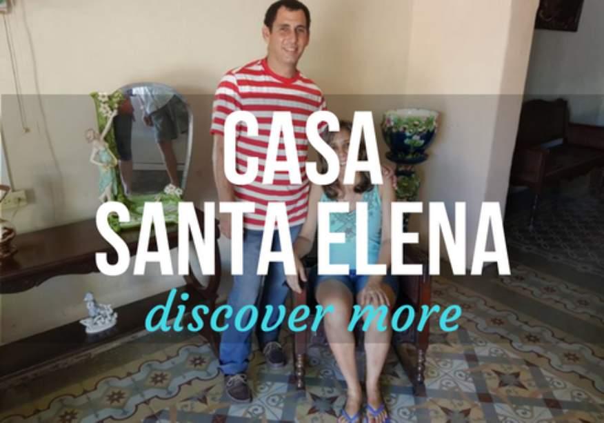 Casa Santa Elena in Cienfuegos