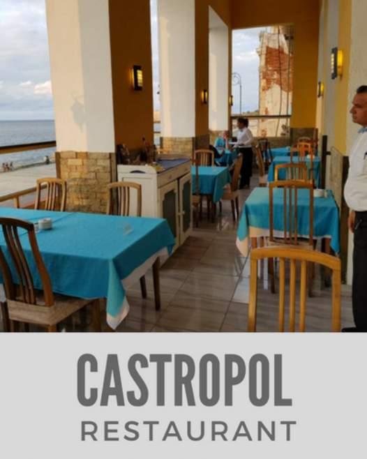 Castropol Restaurant in Havana
