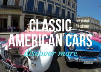 Vintage, Old Classic American Car Tours in Havana