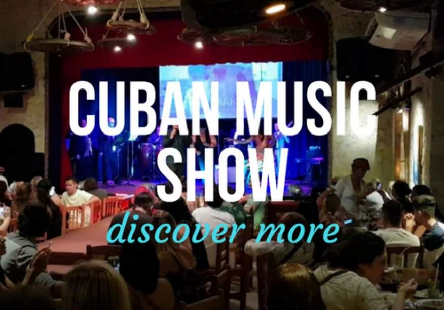 Authentic Cuban Music Show in Havana