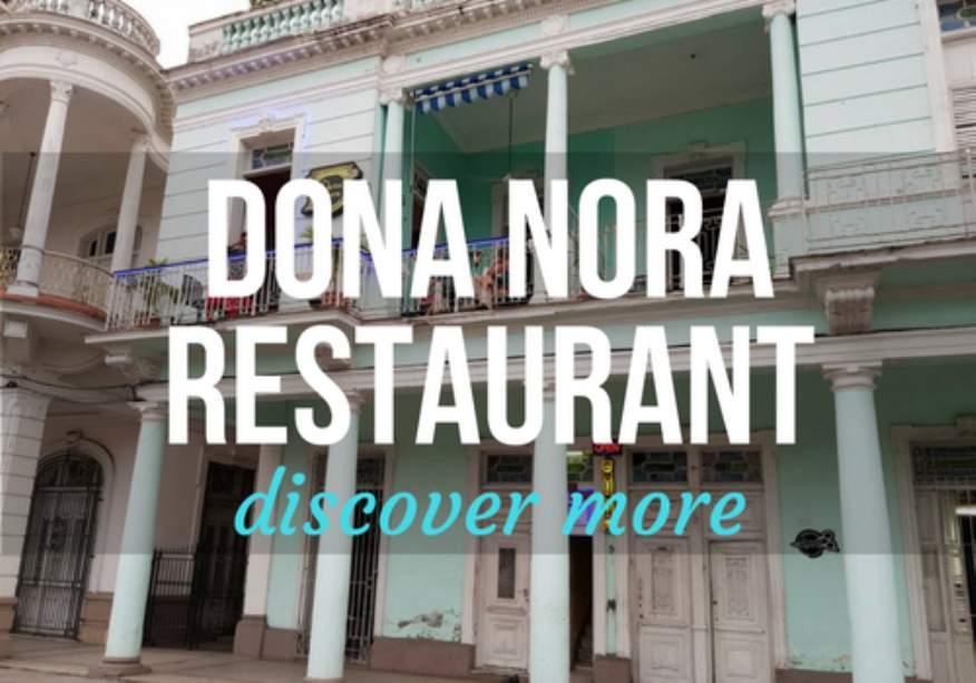 Dona Nora Restaurant in Cienfuegos