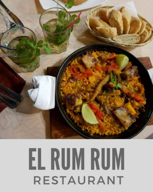 El Rum Rum Bar and Restaurant in Old Havana
