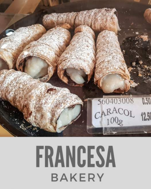 Pasteleria Francesa Bakery in CEntro Havana