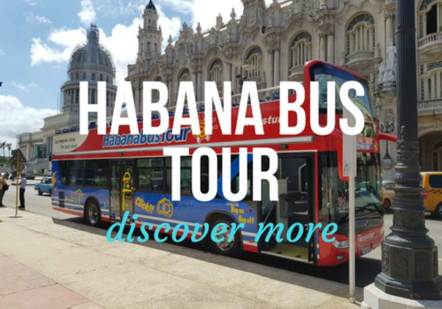 Hop-on Hop-off Habana Bus Tour in Havana