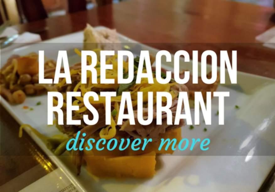 La Redaccion Restaurant in Trinidad, Cuba