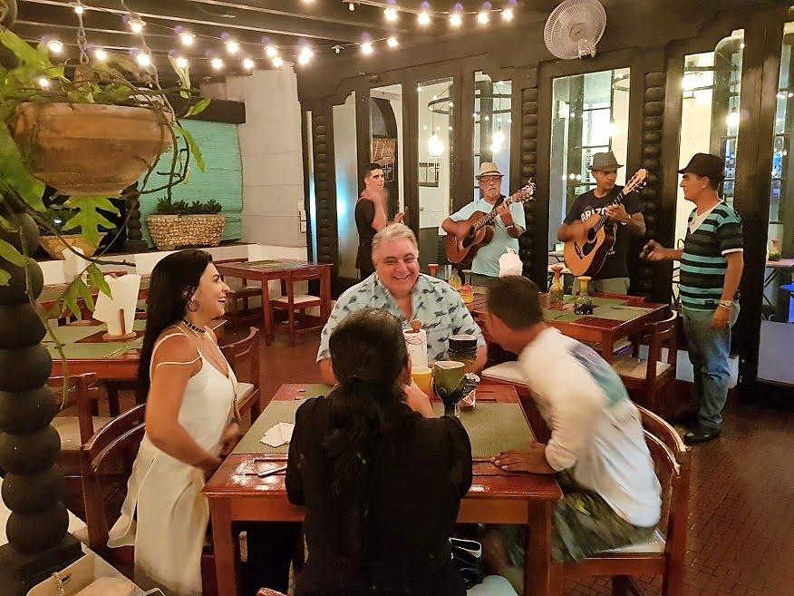 Inside La Terraza Restaurant