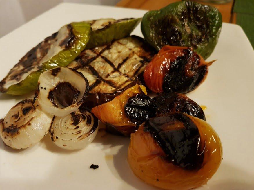 BBQ Veg at La Terraza Restaurant