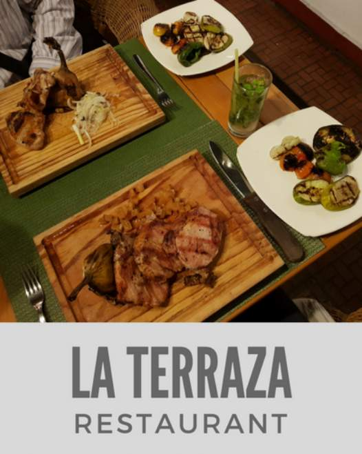 La Terraza Restaurant in Old Havana