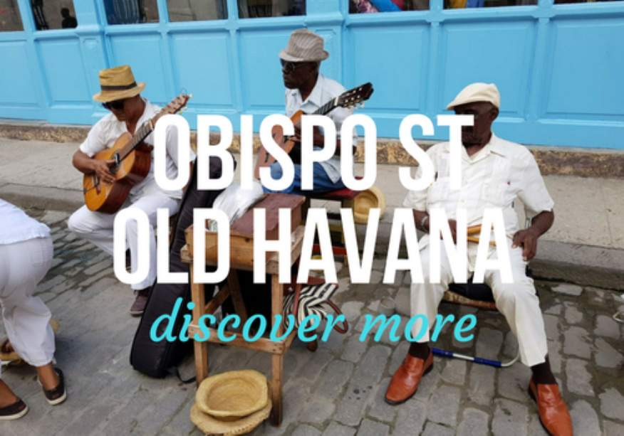 Obispo Street in Old Havana