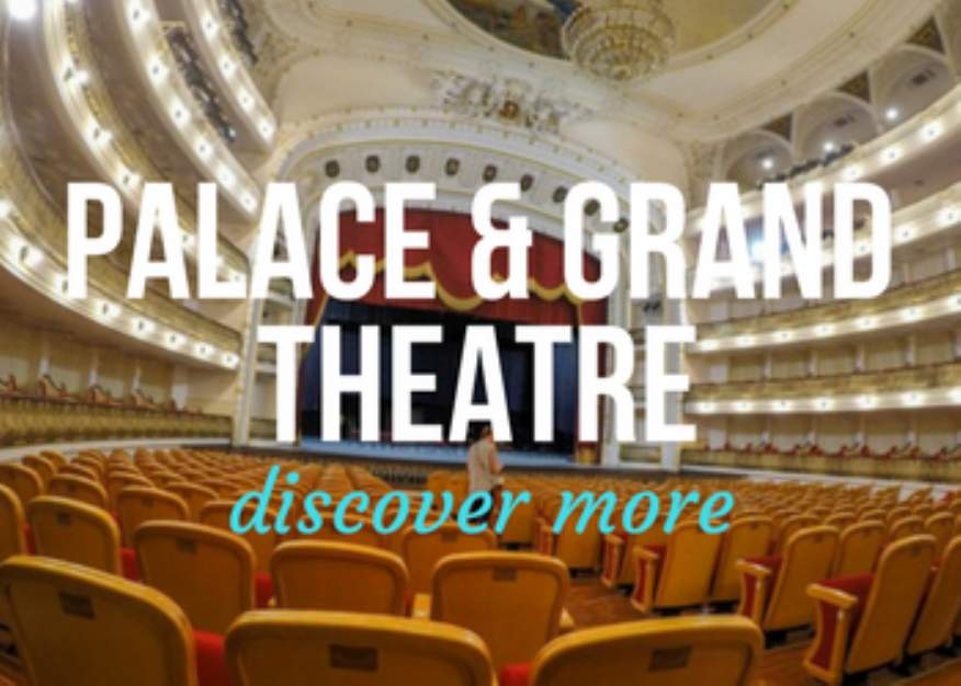 Palace and Grand Ballet Theatre in Havana