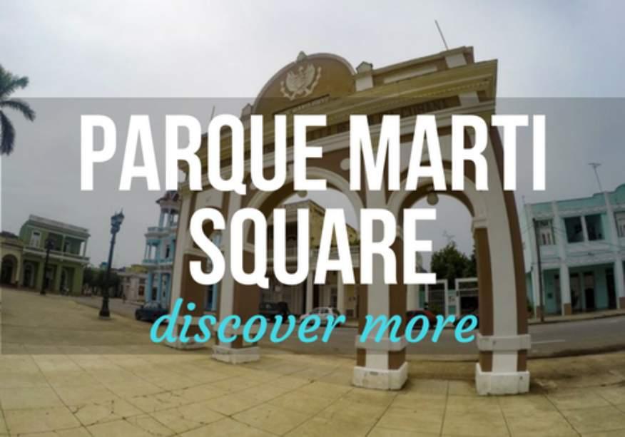 Parque Marti in Cienfuegos