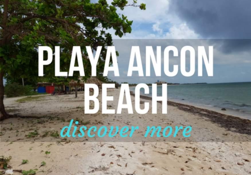 Playa Ancon in Trinidad, Cuba