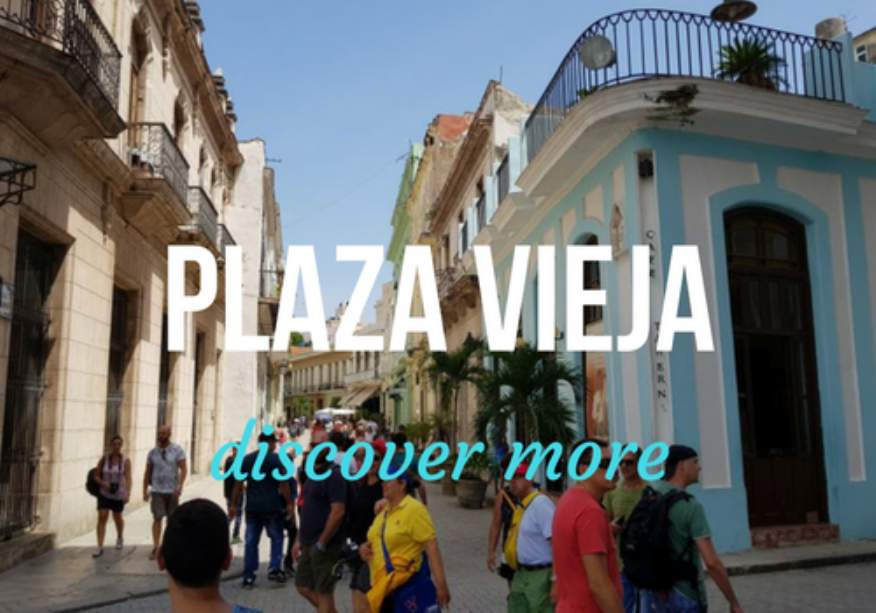 Plaza Vieja Square in Old Havana