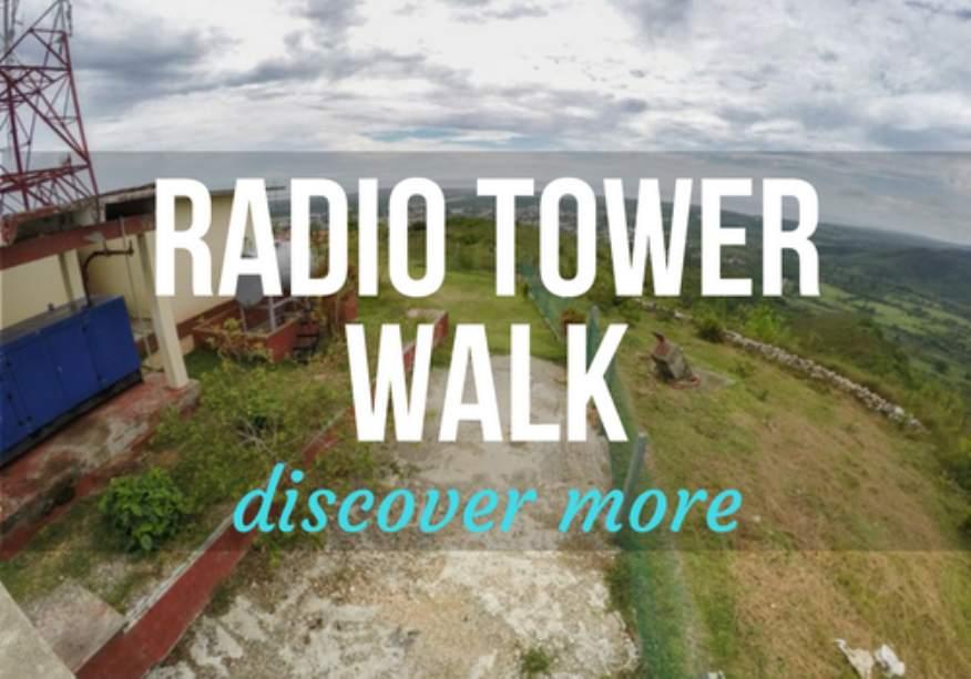 Radio Tower Walk in Trinidad, Cuba
