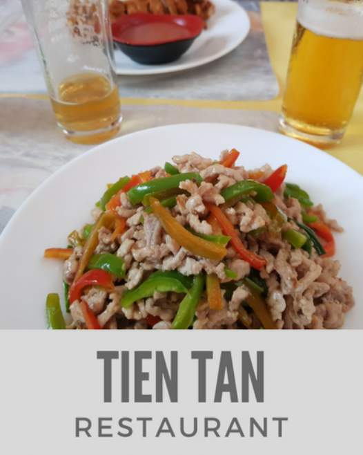 Tien Tan Restaurant in Chinatown, Havana