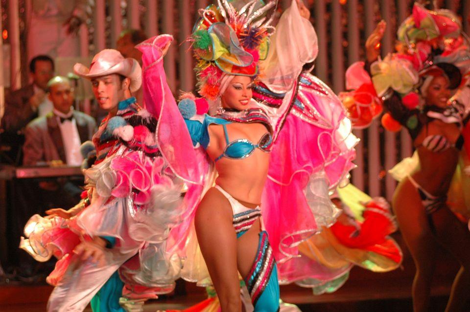 Tropicana Cabaret in Havana, Cuba