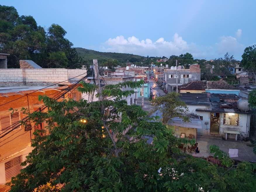 View from Casa Orula Chango Trinidad Cuba