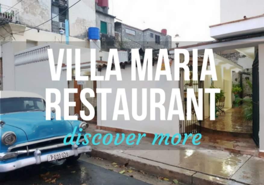 Villa Maria Restaurant in Cienfuegos