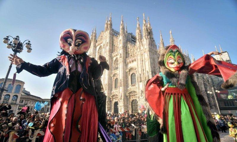 Milan in February