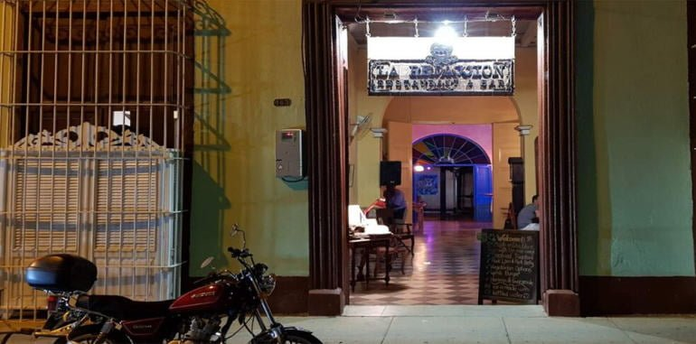 cuba-trinidad-dining-la-redaccion-restaurant-entrance