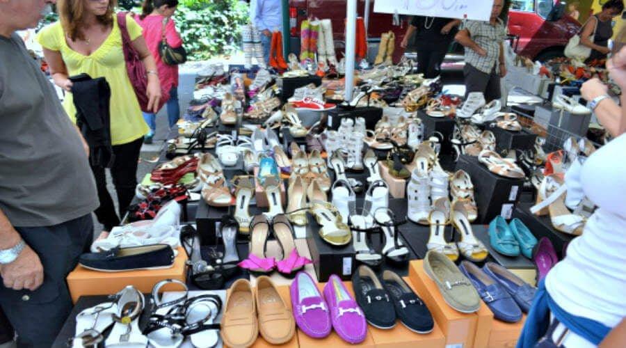 Via Fauchè - Fashionable street market