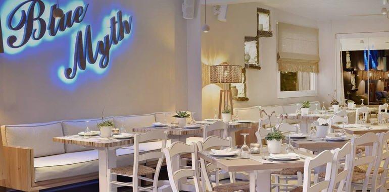 Stylish Indoor Seating @ Blue Myth Restaurant
