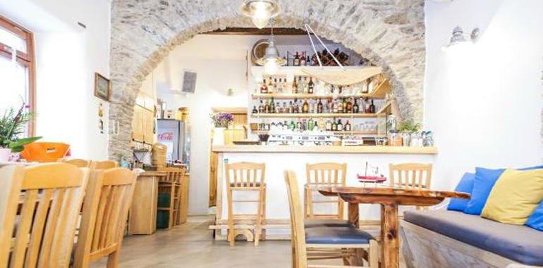 Stylish Indoor Seating @ Captain's Restaurant
