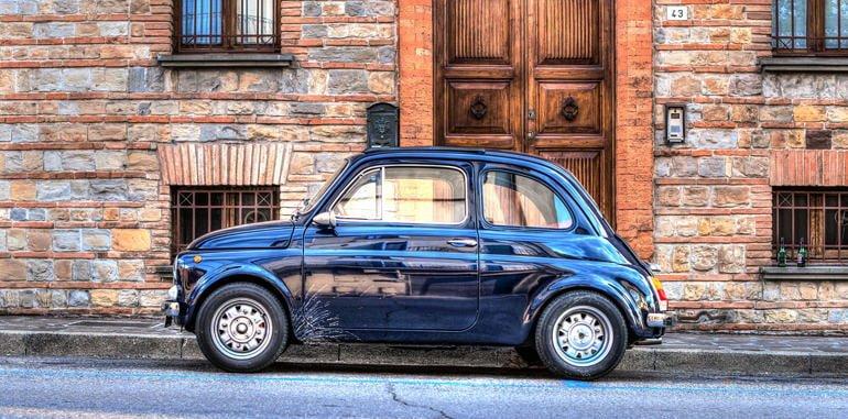 italy-transport-parking-street-mini-car-blue