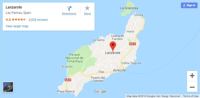 lanzarote-google-map