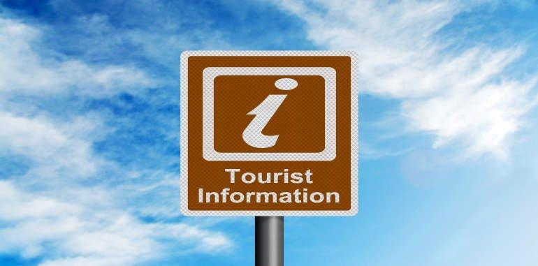 lanzarote-tourist-information-illustration-realistic-metallic-reflective-sign-against-blue-summer-sky-background