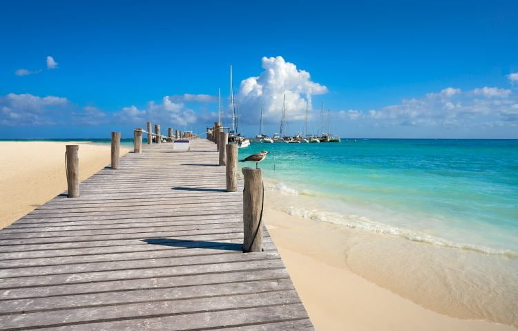 mexico-rivera-maya-beach-playa-maroma-white-sands-boardwalk-pier-leading-to-marina