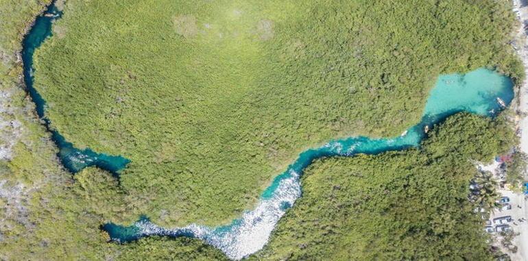 mexico-tulum-casa-cenote-aerial-view