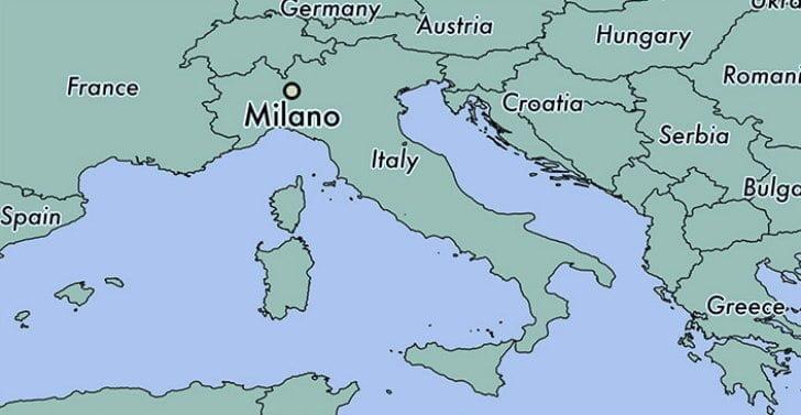 Maps of Milan: Lombardy Region