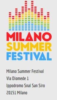 Milan in July