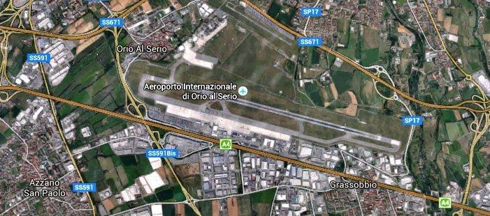 Bergamo BGY Airport