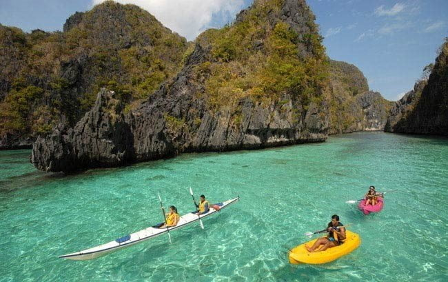 Attractive places in Palawan